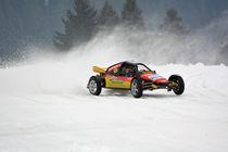 Buggy beim Eisrennen - Ice Race von Mark Gassner