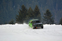 VW Golf II beim Eisrennen - Ice Race by Mark Gassner