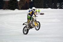 Enduro Wheelie beim Eisrennen - Ice Race by Mark Gassner