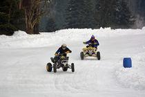 Quad - ATV beim Eisrennen - Ice Race by Mark Gassner