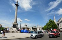 Nelsons Column, Trafalgar Square London.  by Peter Rivron
