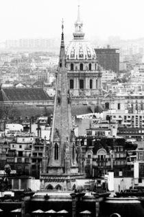 Sur les toits de Paris von Sascha Richartz
