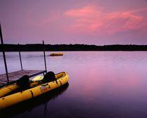 Tranquility Docked von Dan Dorland