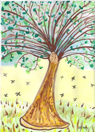 Number-99-florishing-tree