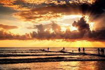 Sonnenuntergang in Side von Daniel Heine