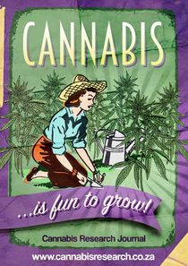 Fine Art - Cannabis is Fun to grow! by cannabis-retro-artist