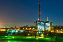 Thyssen Krupp Fabrik Duisburg by Daniel Heine