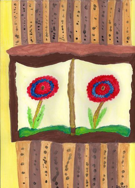 Number-100-florals-in-windows