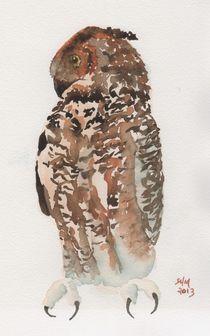 Great Horned Owl 3 by Sandy McDermott