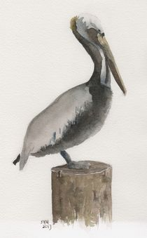 'Pelican Post' by Sandy McDermott