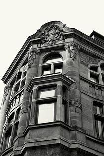 Stadthaus schwarz-weiss von leddermann