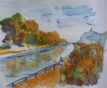 Lahntal, Herbst by Gerhard Stolpa