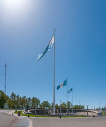 Plaza de las Banderas (Neuquén) von Steffen Klemz