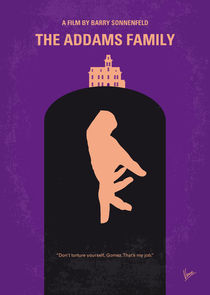 No423-my-the-addams-family-minimal-movie-poster