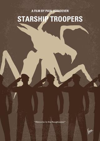 No424-my-starship-troopers-minimal-movie-poster