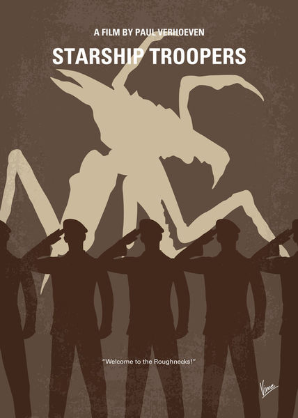 No424-my-starship-troopers-minimal-movie-poster
