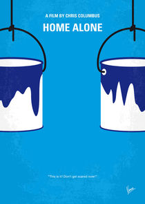 No427 My Home alone minimal movie poster von chungkong