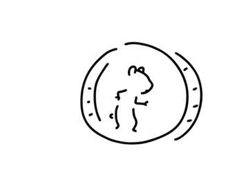 Hamster-maus-hamsterrad