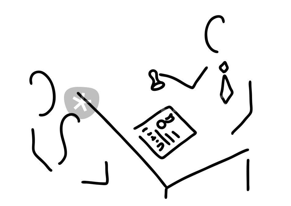notar anwalt urkunde vertrag grafik illustration als poster und kunstdruck von lineamentum. Black Bedroom Furniture Sets. Home Design Ideas
