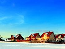 Spiegelung der Wintersonne   Landschaftsfotografie von Patrick Jobst