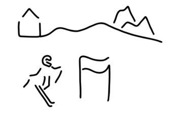 Ski-alpin-skifahrer