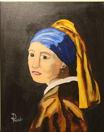 Das Mädchen mit dem Perlenohrgehänge von Rudolf Urabl