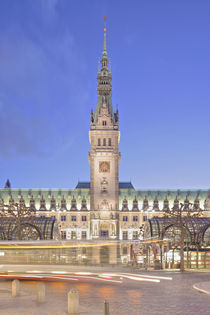 Rathaus - Town hall Hamburg von Marc Heiligenstein