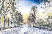 Greenwich Park London Art by David Pyatt