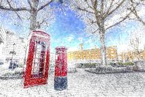 St Katherines Dock London Art by David Pyatt