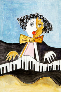 Le pianiste by Boris Selke