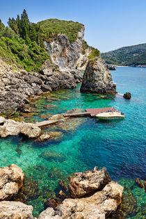 La Grotta Cove at Corfu, Greece by Constantinos Iliopoulos
