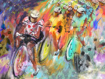 Le Tour De France Madness 01 von Miki de Goodaboom