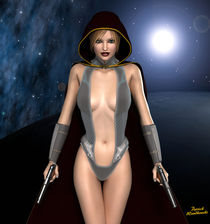 Science Fiction Girl von Patrick Wandkowski