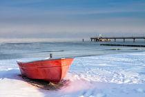 Winter an der Ostseeküste von Rico Ködder