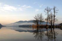 Lago di Lugano 4 by Bruno Schmidiger