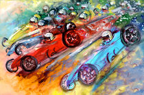 Formula 1 Madness by Miki de Goodaboom