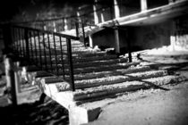 Derelict stairs by David Hare