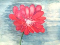 Red Flower by Linda Ginn