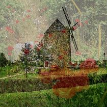 There is a Windmill in Quebec by Rick Todaro