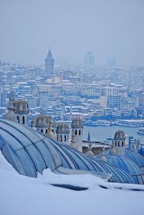 Istanbul views... 7 by loewenherz-artwork