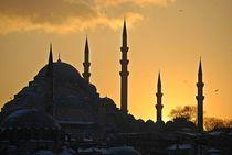 Yeni Camii, Istanbul von loewenherz-artwork