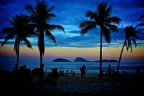 Sunset at Ipanema Beach by Lucas  Uebel