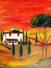 Wärme der Toskana von Christine Huwer