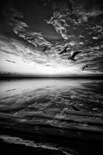 Heaven And Water B&W von florin