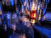 Restaurant light reflection von Marnie Walis