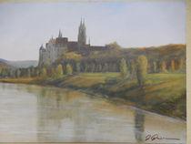 Blick auf die Albrechtsburg Meißen  by Holger Hausmann