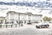 Buckingham Palace Snow von David Pyatt