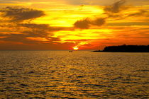 Sonnenuntergang vor Trinidad by Christian Behring