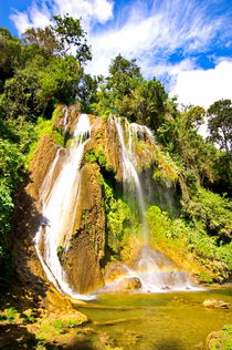El Nicho - Wasserfall by Christian Behring