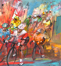 Le Tour De France Madness 04 von Miki de Goodaboom